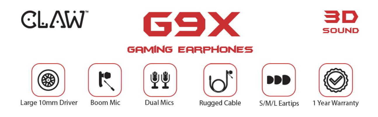 G9x Gaming Earphone