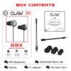 claw g9x gaming earphones